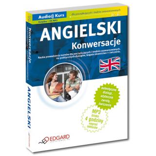 Angielski Konwersacje dla początkujących i średnio zaawansowanych (Książka + CD mp3)