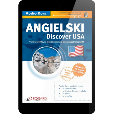 Angielski Discover USA (E-book + mp3)