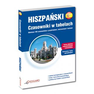 Hiszpański Czasowniki w tabelach (Książka)