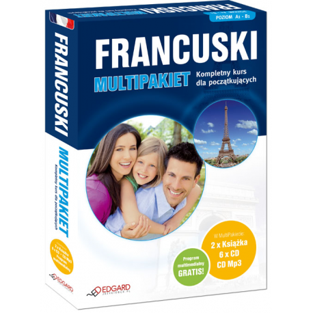Francuski MultiPakiet (2 x Książka + 6 x CD Audio + MP3 z programem multimedialnym)