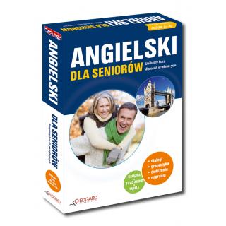 Angielski dla seniorów. Poziom podstawowy (Książka + 3 x CD Audio + Tabele gramatyczne)