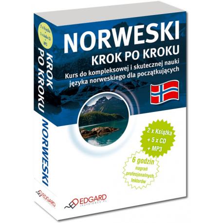 Norweski Krok po kroku (2 x Książka + 5 x CD Audio + MP3)