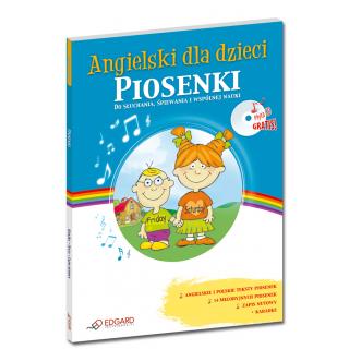 Angielski dla dzieci Piosenki (Książka + Audio CD)