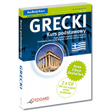 Grecki Kurs podstawowy - Nowa Edycja (Książka + 2 x CD Audio)