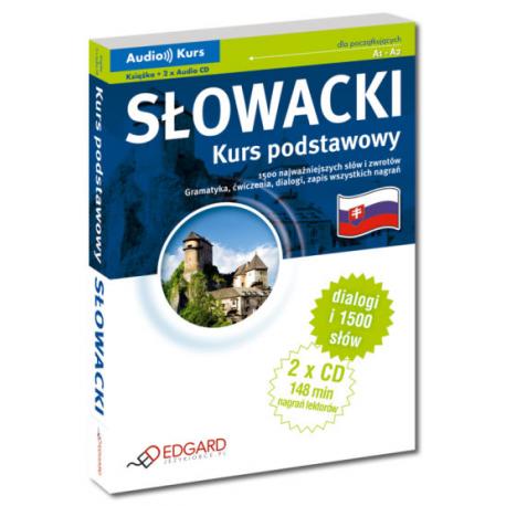 Słowacki Kurs podstawowy (Książka + 2 x Audio CD)