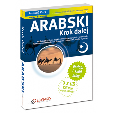 Arabski Krok dalej (Książka + 3 x CD Audio)