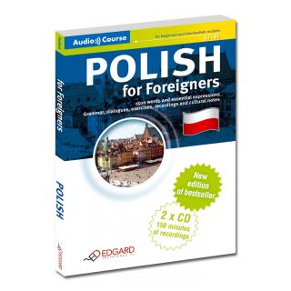 Polski dla cudzoziemców - Nowa Edycja Polish for Foreigners - New Edition (Książka + 2 x CD Audio)