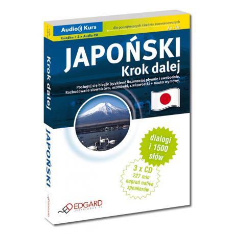 Japoński Krok dalej (Książka + 3 x Audio CD)
