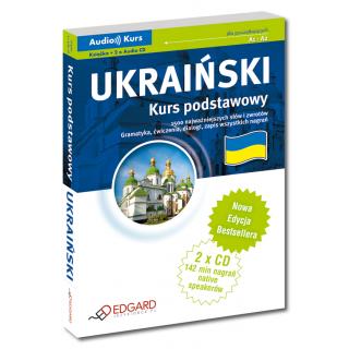 Ukraiński Kurs podstawowy - Nowa Edycja (Książka + 2 x Audio CD)
