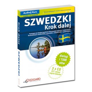 Szwedzki Krok dalej (Książka + 3 x Audio CD)