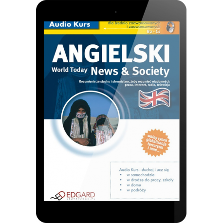 Angielski World Today News & Society (E-book + mp3)