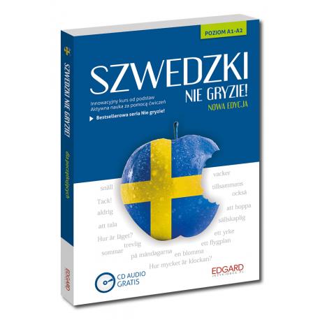 Szwedzki nie gryzie!  (Książka + CD Audio) Nowy wydanie