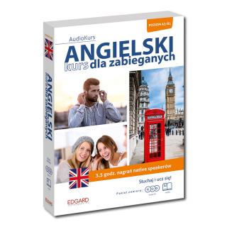 Angielski. Kurs dla zabieganych (książka + 3 płyty audio CD)