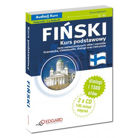 Fiński Kurs podstawowy (Podręcznik + 2 x Audio CD)