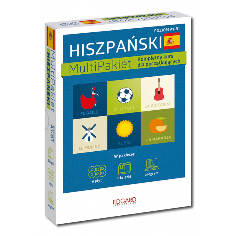 Hiszpański MultiPakiet Nowa edycja