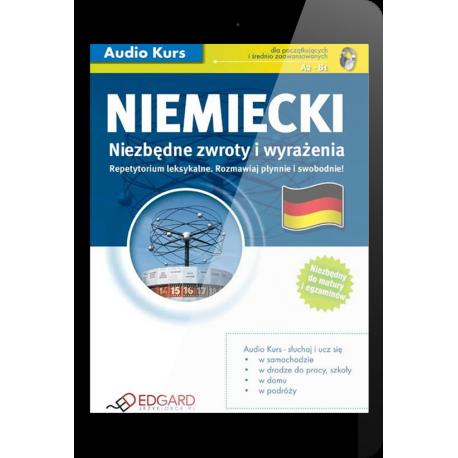 Niemiecki Niezbędne zwroty i wyrażenia (E-book + mp3)