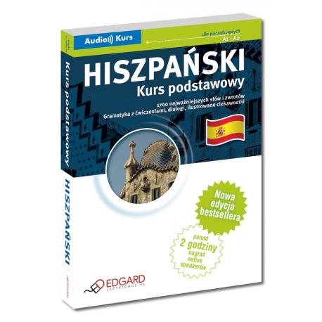 Hiszpański Kurs podstawowy - Nowa Edycja! (Książka + 2 x CD)