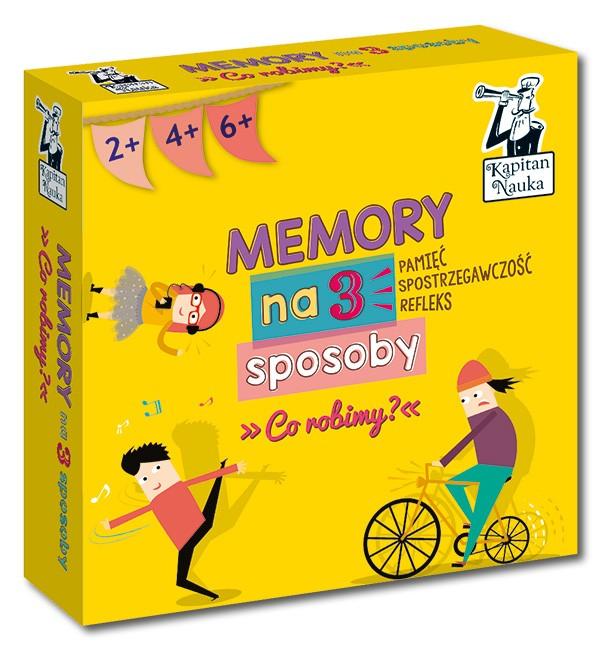 Kapitan Nauka Memory na 3 sposoby Co robimy? Wydanie 2