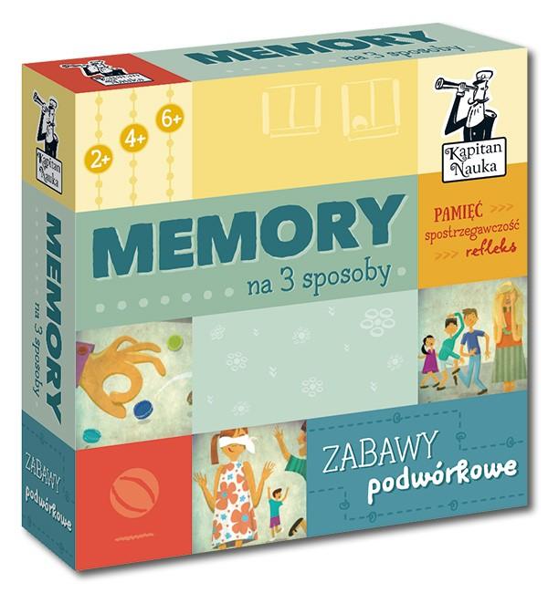 Kapitan Nauka Memory na 3 sposoby Zabawy podwórkowe