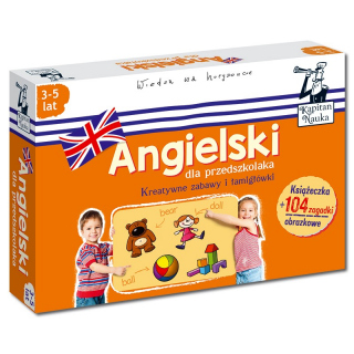 Angielski dla przedszkolaka (3-5 lat)