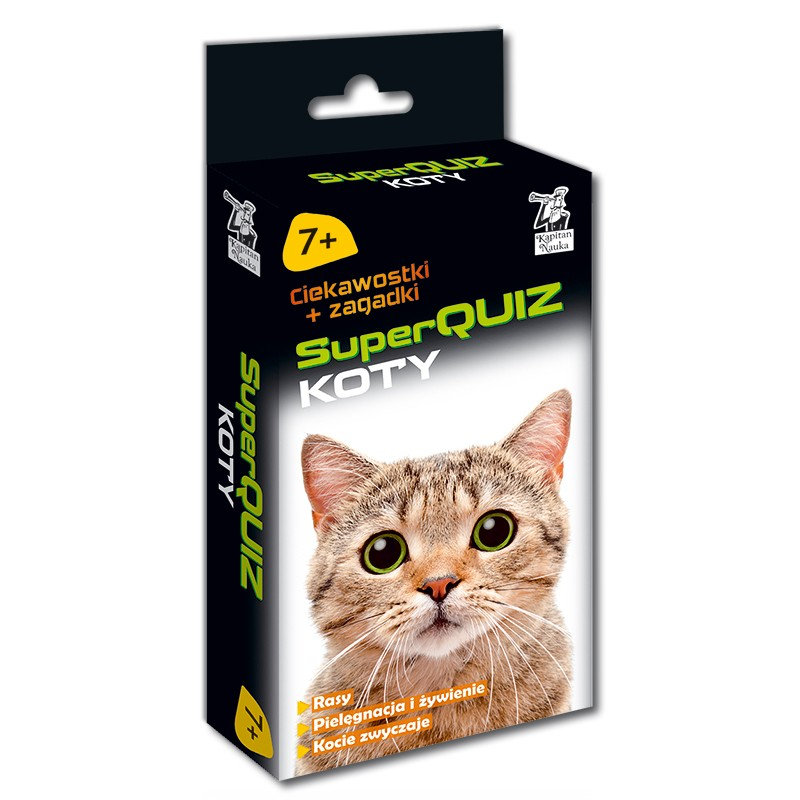Kapitan Nauka - SuperQuiz Koty