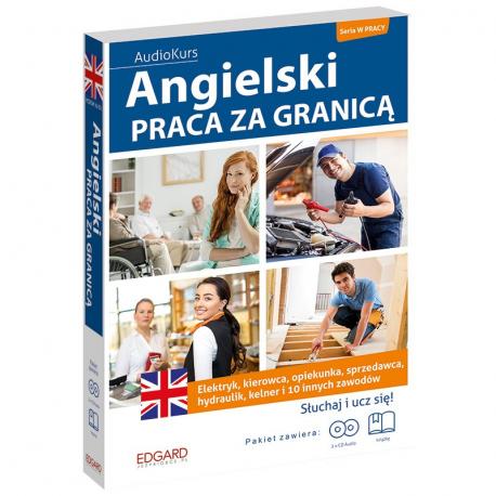 Angielski Praca za granicą (książka + 2 płyty audio CD)