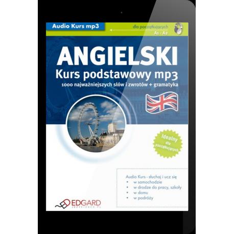 Angielski Kurs podstawowy mp3 (E-book + mp3)