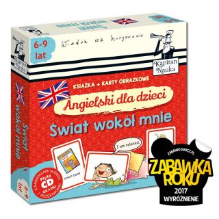 Angielski dla dzieci. Świat wokół mnie (książka + karty obrazkowe)