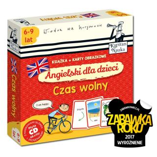 Angielski dla dzieci Czas wolny (książka + karty obrazkowe)