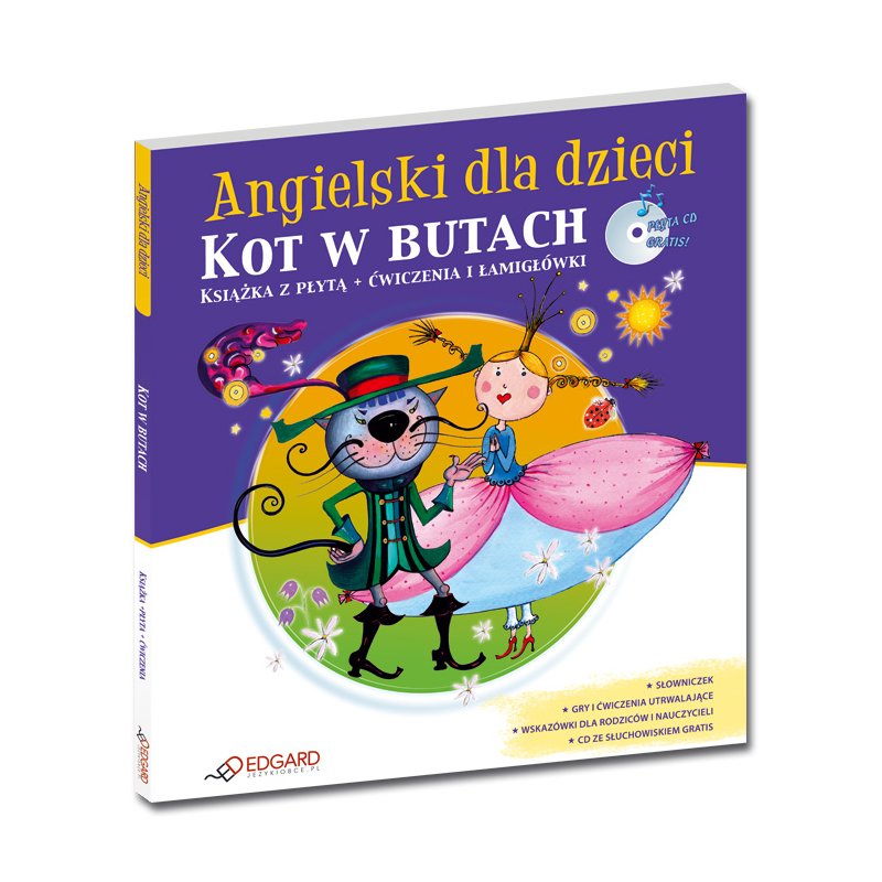Angielski Dla Dzieci Kot W Butach Puss In Boots Od 6 Lat Książka