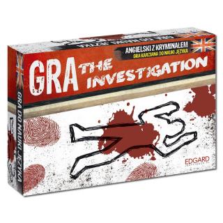 Angielski. Kryminalna gra karciana The Investigation