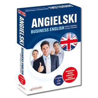 Angielski Business English Pakiet niezbędny w pracy i biznesie (2 x Książka + 4 x CD + Fiszki)