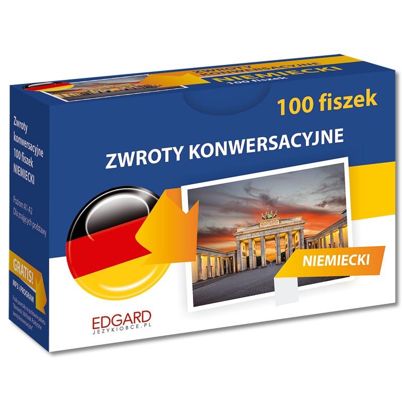 Niemiecki 100 Fiszek Zwroty konwersacyjne