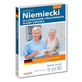 Niemiecki dla opiekunów i pracowników służby zdrowia (Książka + CD Audio + nagrania mp3 online)