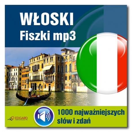 Włoski Fiszki mp3 1000 najważniejszych słów i zdań (Program + Nagrania do pobrania)