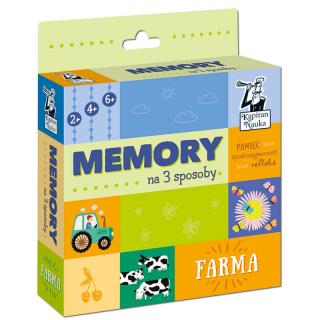 Memory na 3 sposoby. Farma