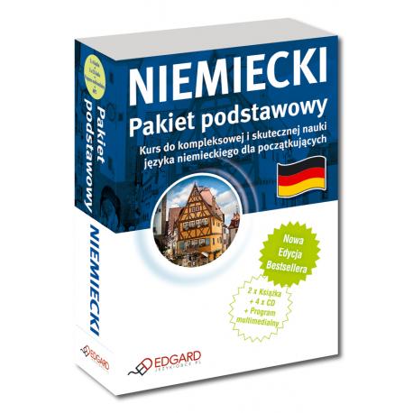 Niemiecki Pakiet Podstawowy - Nowa Edycja  (2 x Książka + 3 x CD Audio + Program Multimedialny + MP3)