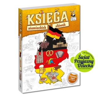 Księga niemieckich słówek 7+ (książka +...