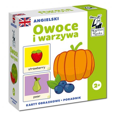 Angielski Owoce i warzywa (karty obrazkowe +...