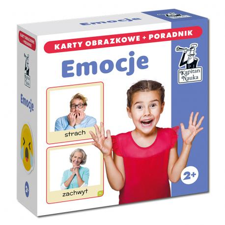 Emocje (karty obrazkowe + poradnik)