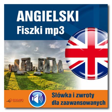Angielski Fiszki mp3 Słówka i zwroty dla zaawansowanych (Program + nagrania do pobrania)