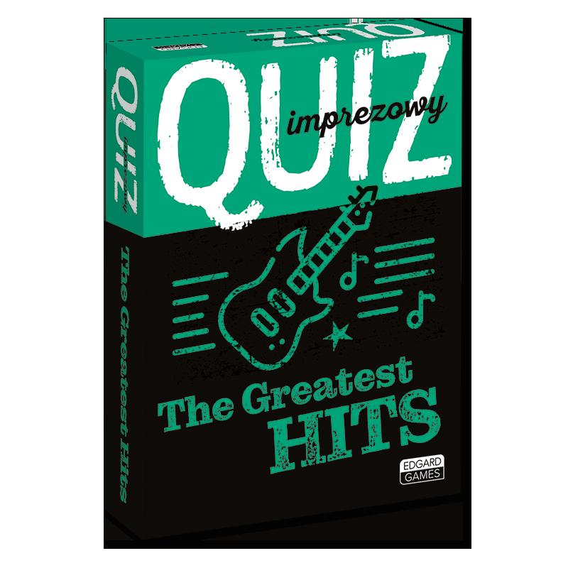 The Greatest Hits. Quiz imprezowy jezykiobce.pl Edgard Games