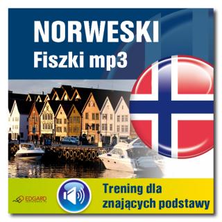Norweski Fiszki mp3 Trening dla znających podstawy  (Program + Nagrania do pobrania)