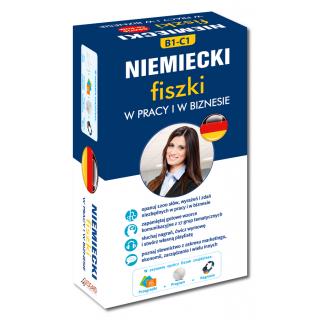 Niemiecki fiszki W pracy i w biznesie +CD (600 fiszek + CD-ROM z programem i nagraniami MP3 + Kolorowe przegródki)