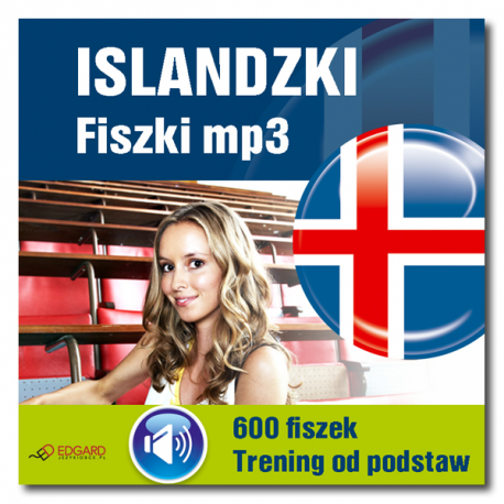 Islandzki Fiszki mp3 Trening od podstaw  (Program + Nagrania do pobrania)