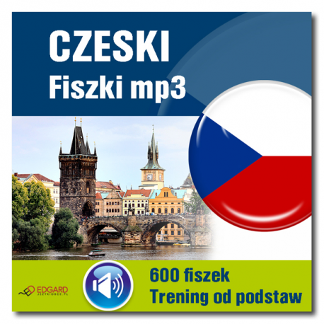 Czeski Fiszki mp3 Trening od podstaw  (Program...