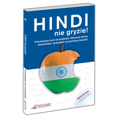Hindi nie gryzie! + CD  (Książka + CD Audio)