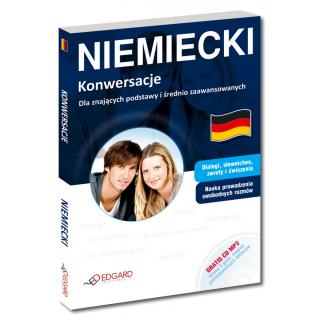 Niemiecki Konwersacje Dla znających podstawy i średnio zaawansowanych (Książka + CD MP3)