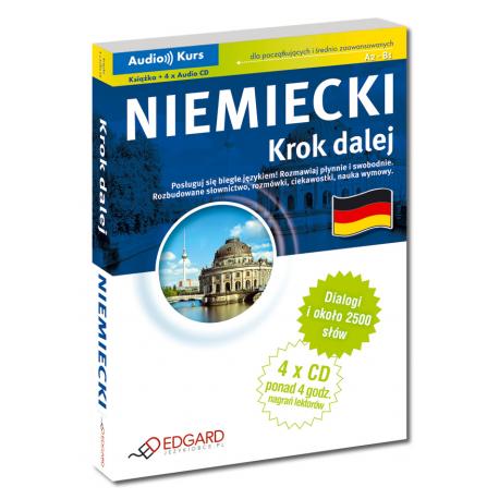 Niemiecki Krok dalej (Książka + 4 x Audio CD)