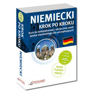 Niemiecki Krok po kroku  (2 x Książka + 6 x CD + CD MP3 + program multimedialny )